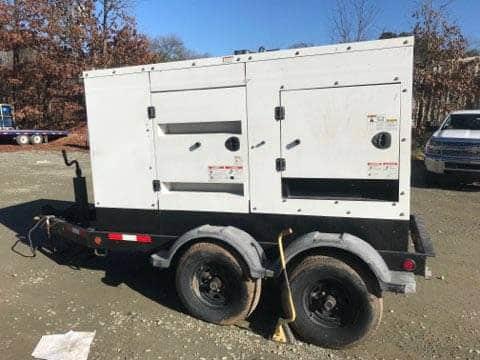 Used 60 kW Cummins C60 Portable Diesel Generator