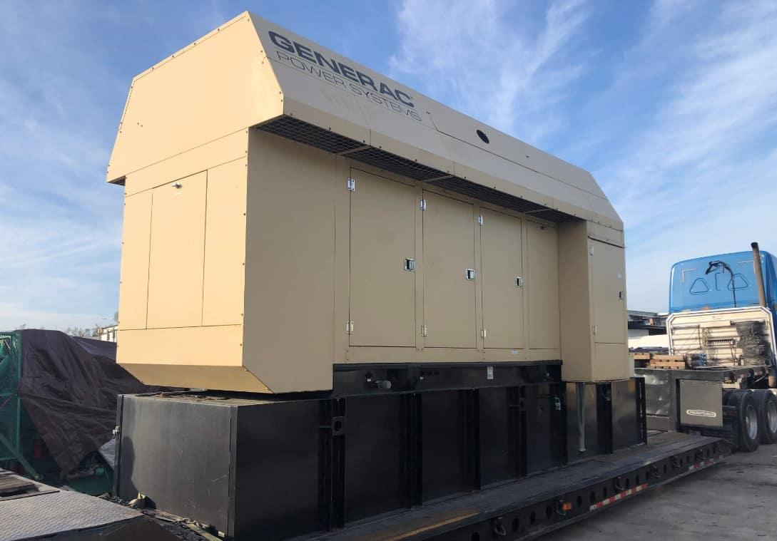 Used 600 kW Generac MB600 Gemini Diesel Generator – SOLD!