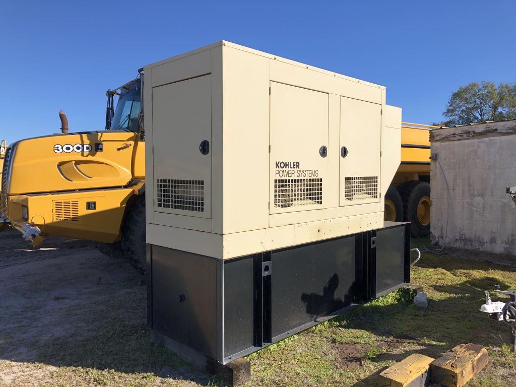 Used 84 kW Kohler 80REOZJC Diesel Generator