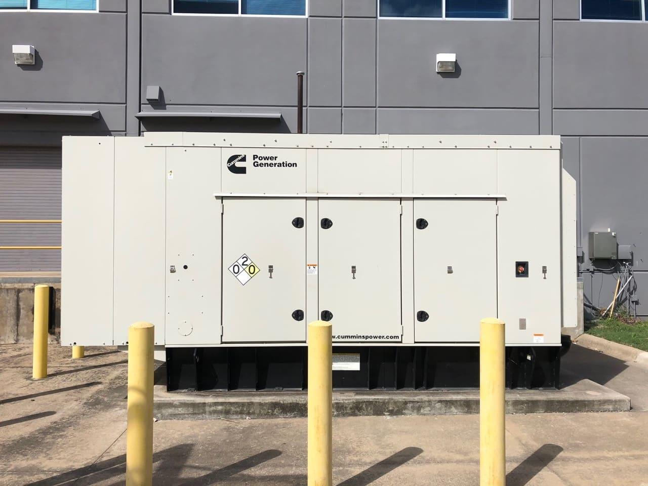 Used 500 kW Cummins DFEK Diesel Generator – EPA Tier 2