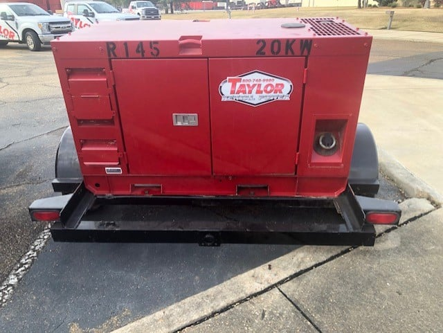 Used 20 kW Kubota GL Series Portable Diesel Generator – 7 Available – COMING IN!
