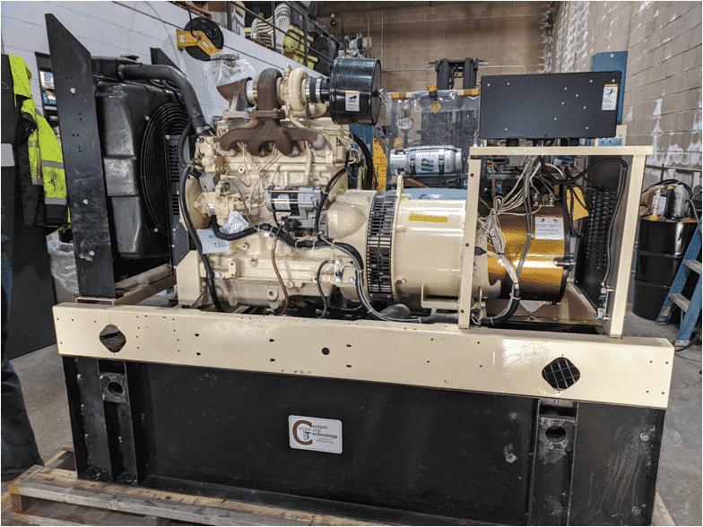 Used 50 kW Kohler 50REOZJB Diesel Generator