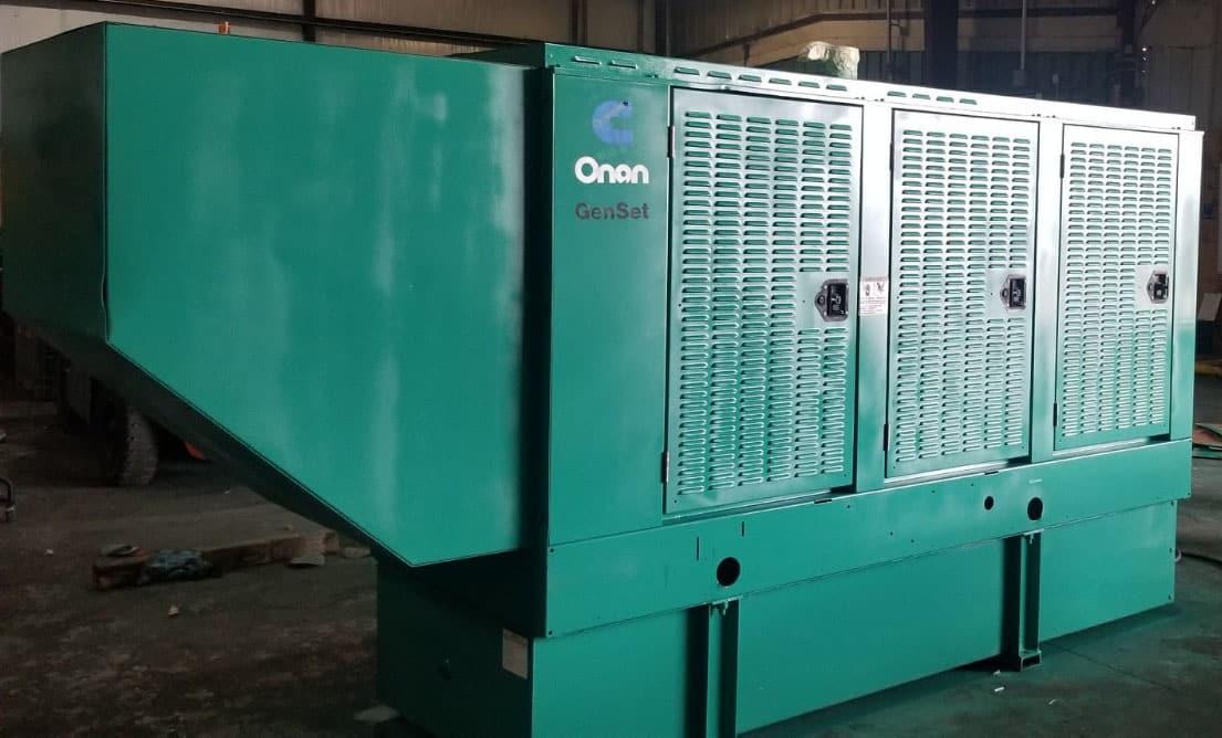 Used 150 kW Cummins 150DGFA Diesel Generator