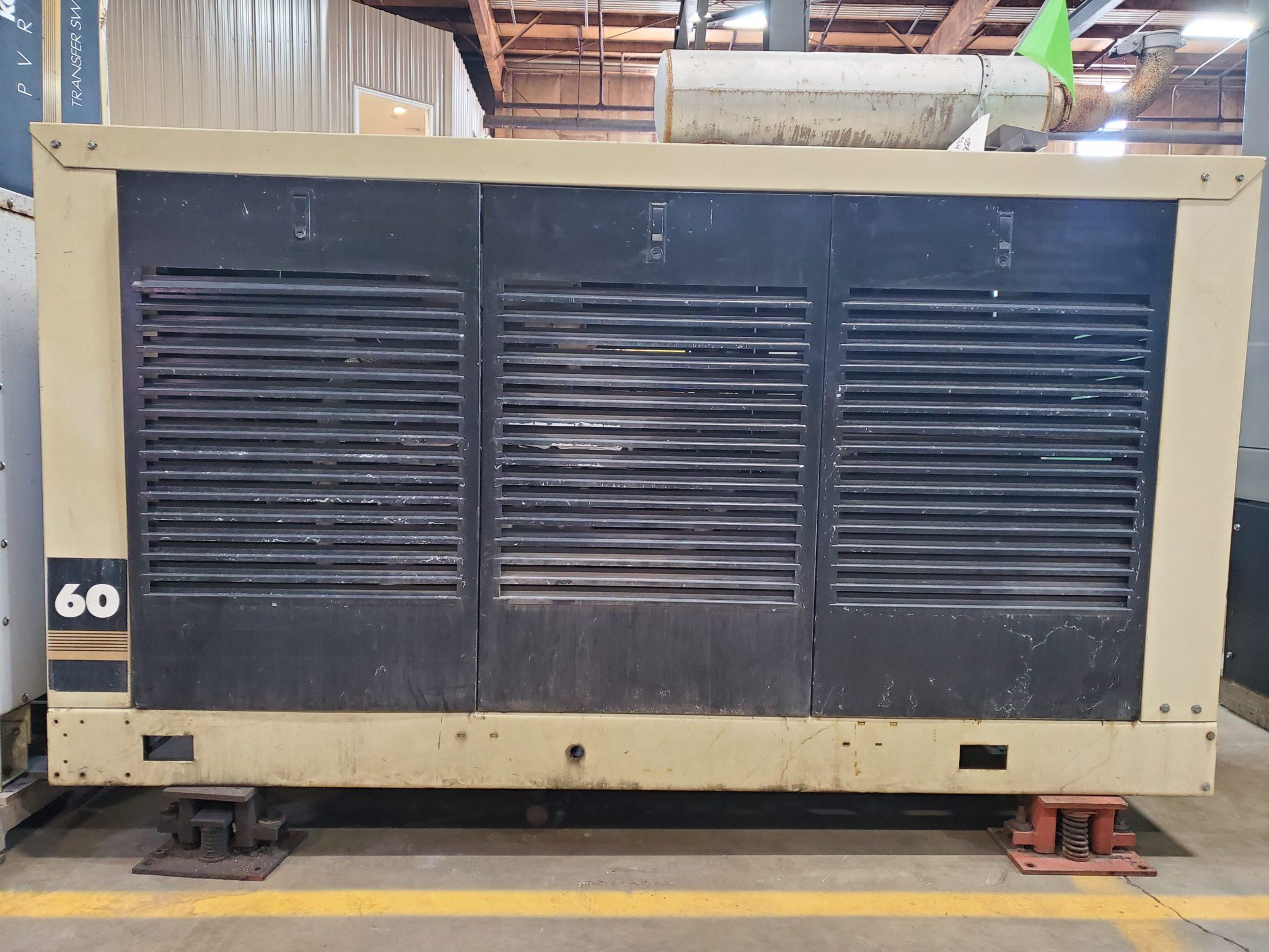 Used 60 kW Kohler 60RZ272 Natural Gas Generator
