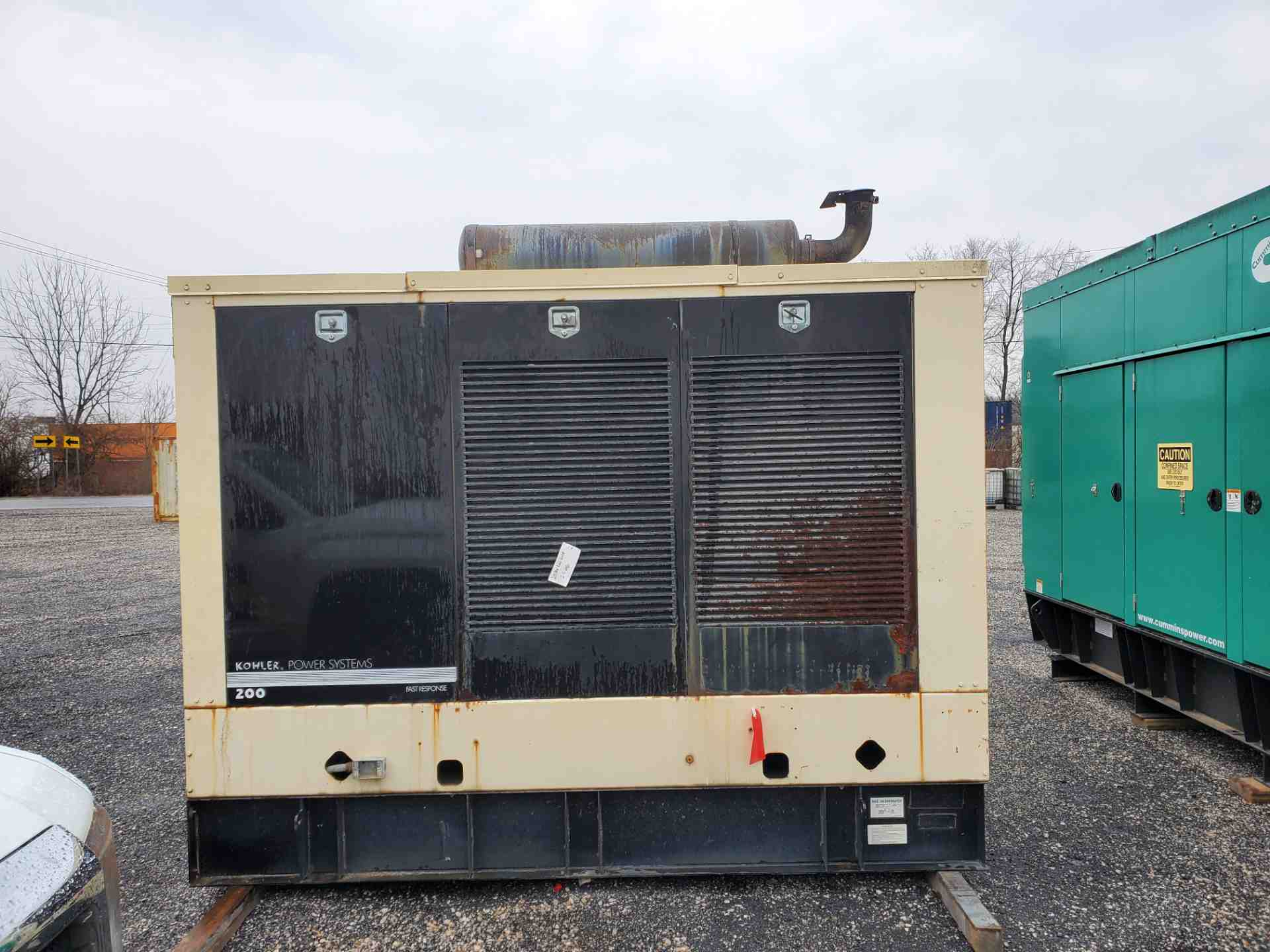 Used 200 kW Kohler 200REOZV Diesel Generator