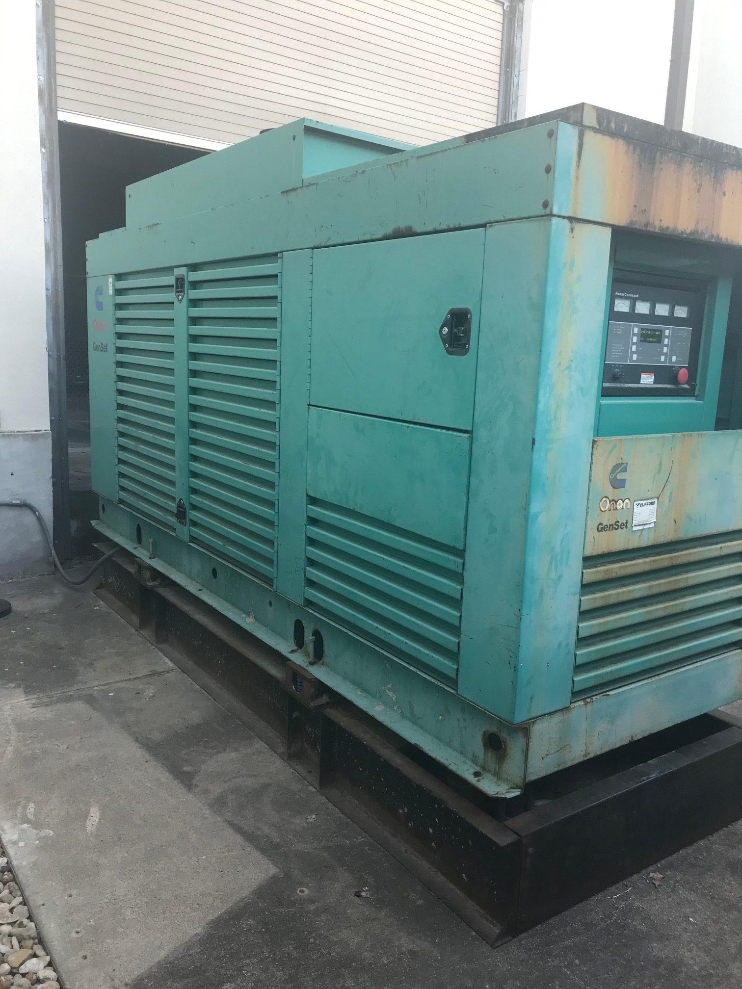 Used 350 kW Cummins DFCC Diesel Generator