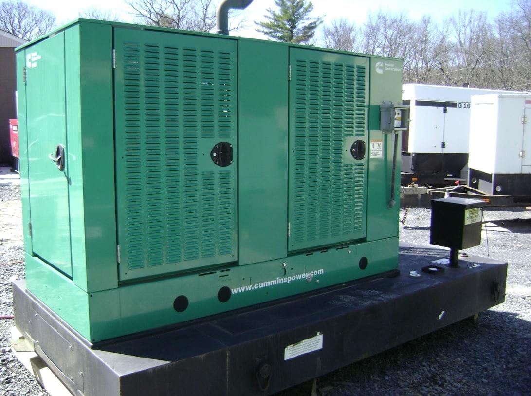 Used 50 kW Cummins DSFAC Diesel Generator – EPA Tier 3