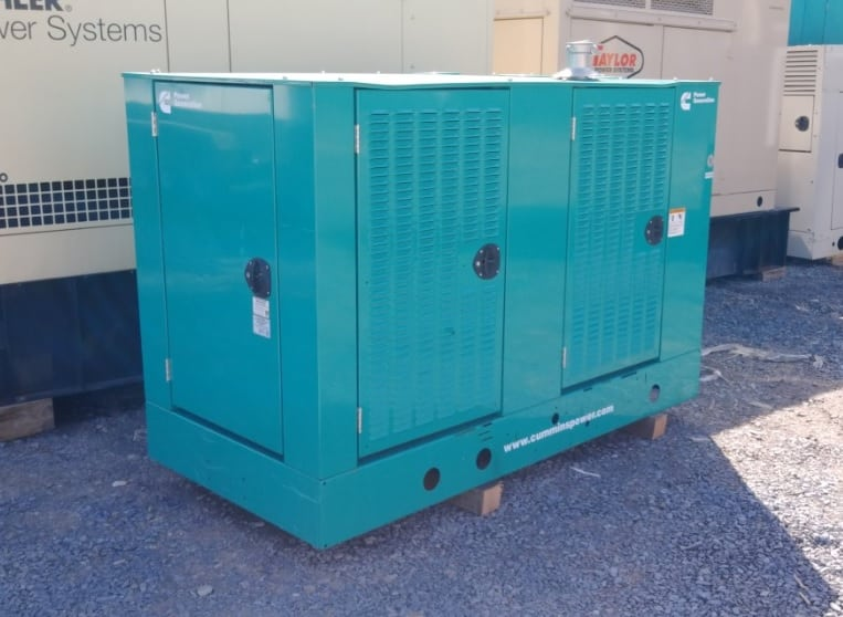 Used 60 kW Cummins GGHE Natural Gas Generator