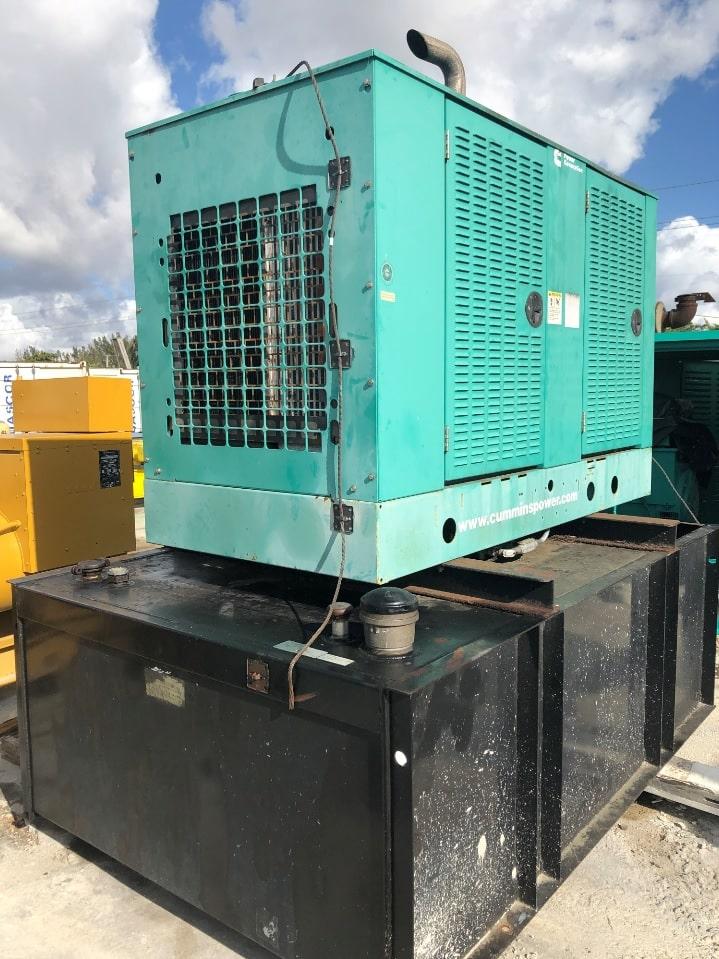 Used 80 kW Cummins DSFAE Diesel Generator – EPA Tier 3