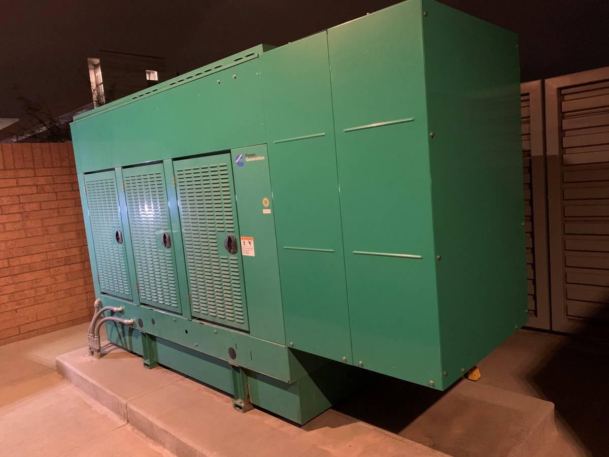 Used 125 kW Cummins DGDK Diesel Generator