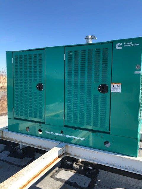 Used 60 kW Cummins GGHE Natural Gas Generator