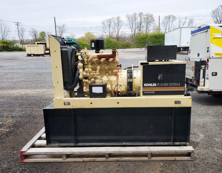 Used 33 kW Kohler 30ROZJ Diesel Generator