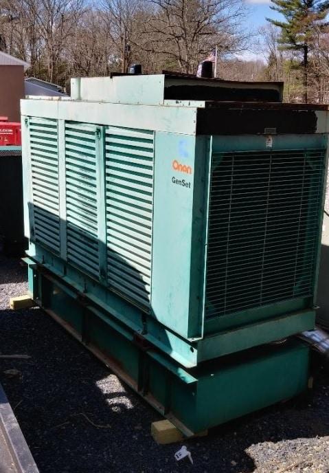 Used 400 kW Cummins DFEB Diesel Generator