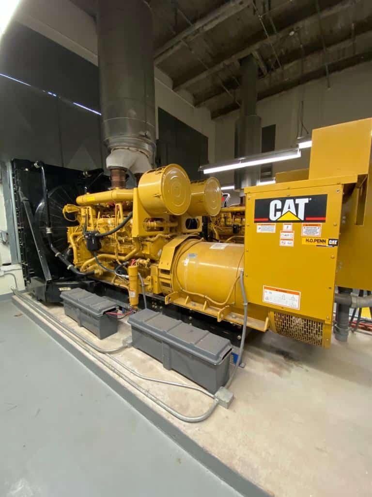 Used 1400 kW CAT 3512B Diesel Generator – SOLD!