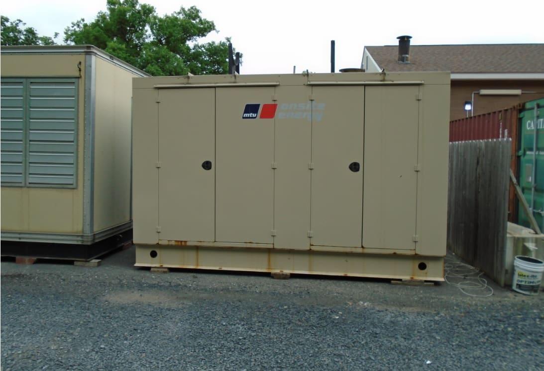 Used 550 kW MTU CD550RV6T2 Diesel Generator – EPA Tier 2