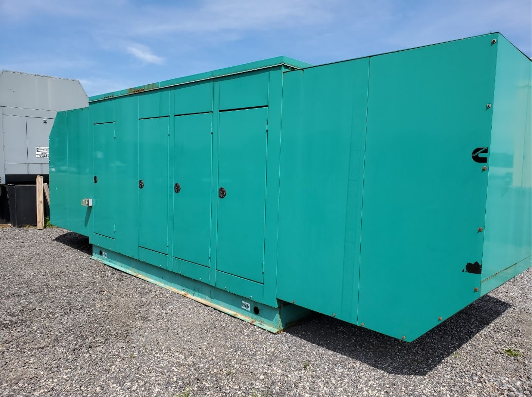 Used 500 kW Cummins 500GFGA Natural Gas Generator