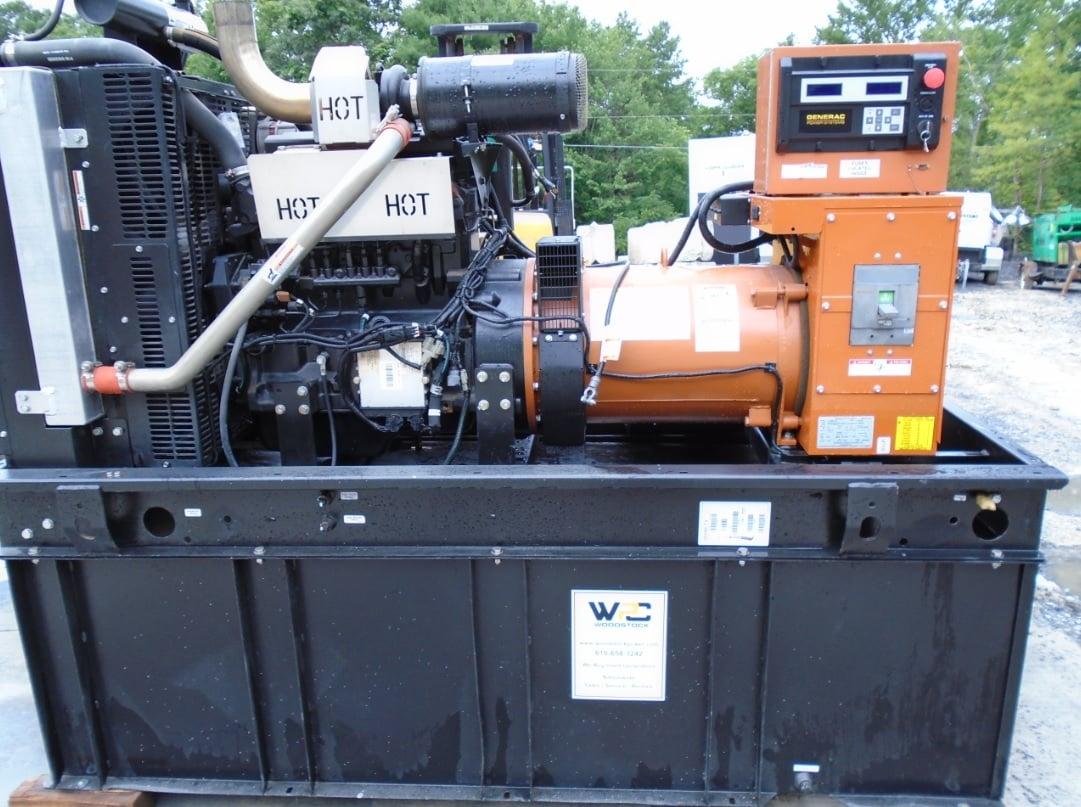 Used 80 kW Generac SD080 Diesel Generator – EPA Tier 3