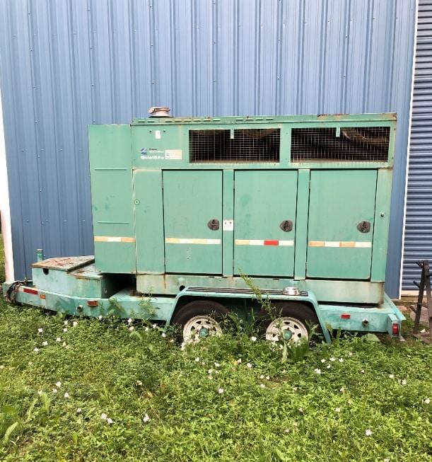 Used 100 kW Cummins DGDB Portable Diesel Generator