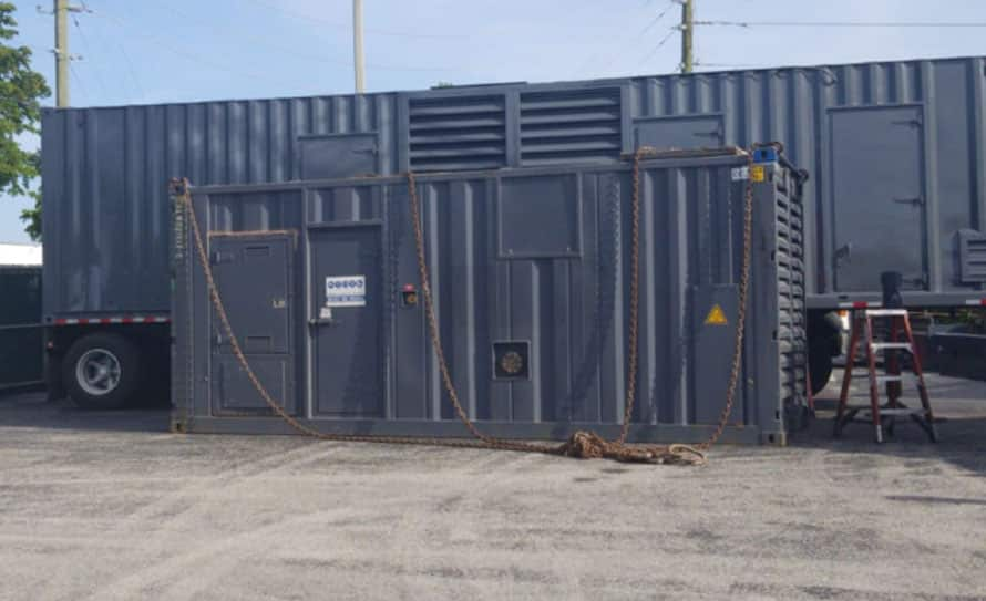 Used 1300 kW Cummins QSK60 Natural Gas Generator – JUST IN!
