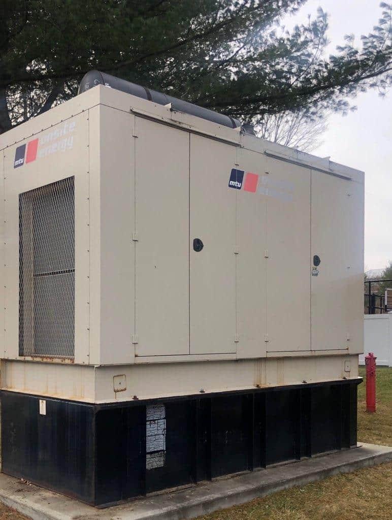 Used 550 kW MTU CD550RV6T2 Diesel Generator – EPA Tier 2 – JUST IN!