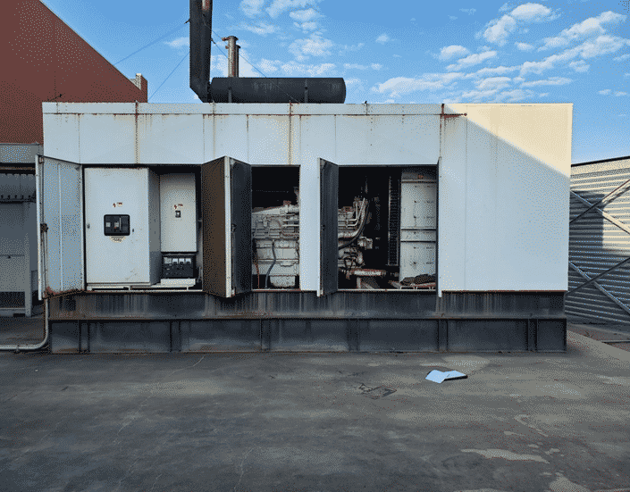 Used 1500 kW Katolight D1500FRZ4 Diesel Generator – SOLD!