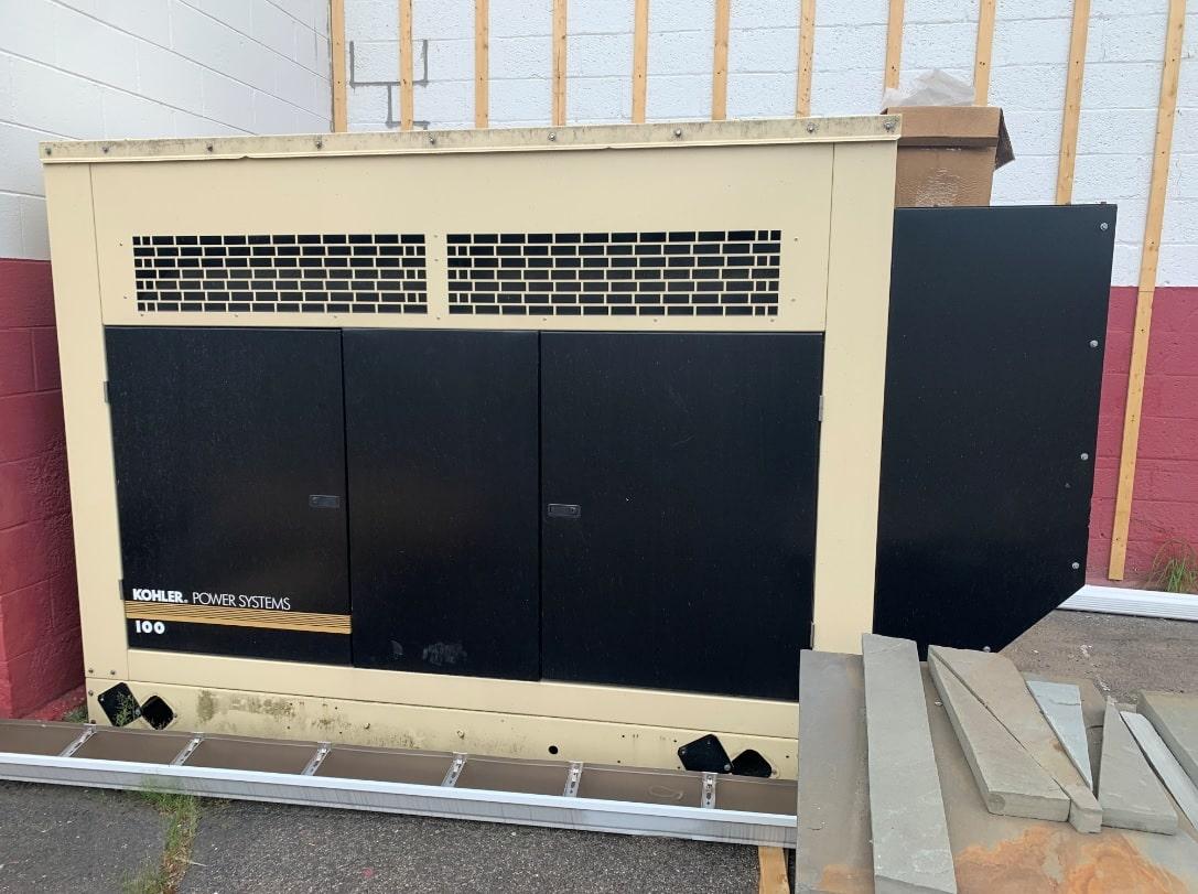 Used 90 kW Kohler 100RZG Natural Gas Generator – JUST IN!