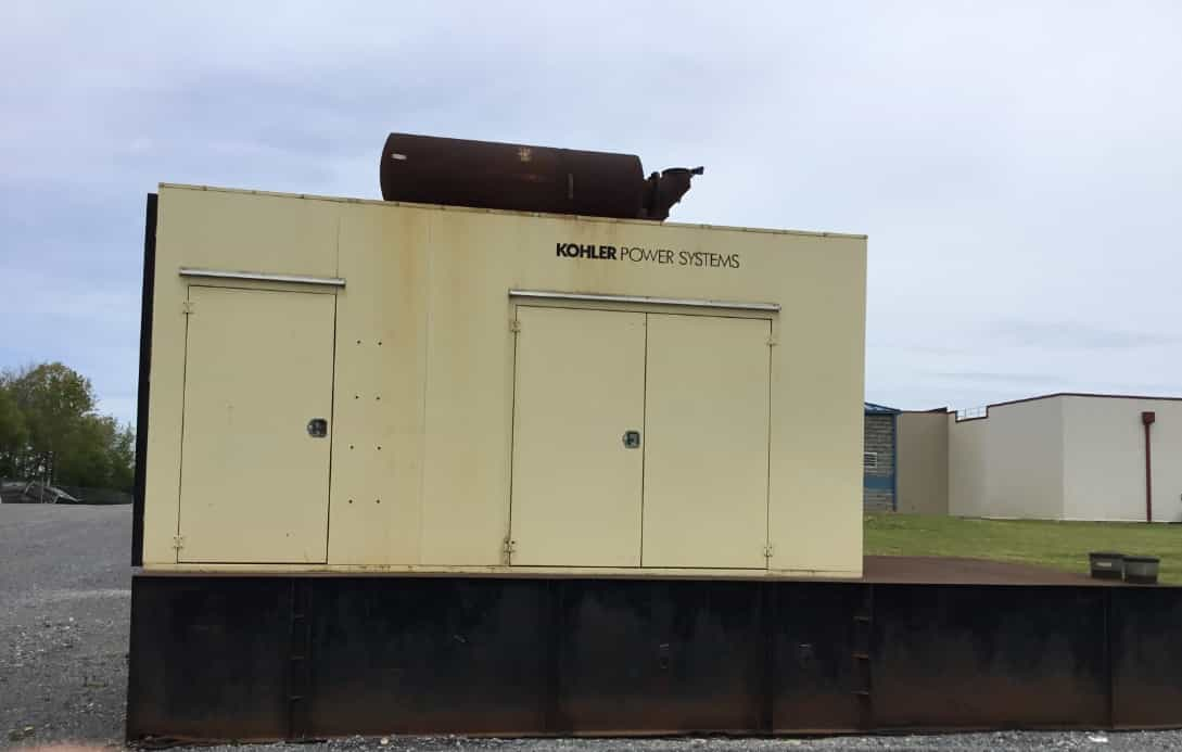 Used 1000 kW Kohler 1000ROZD4 Diesel Generator – COMING IN!