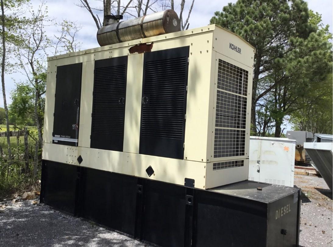 Used 500 kW Kohler 500REOZVB Diesel Generator – EPA Tier 2 – COMING IN!