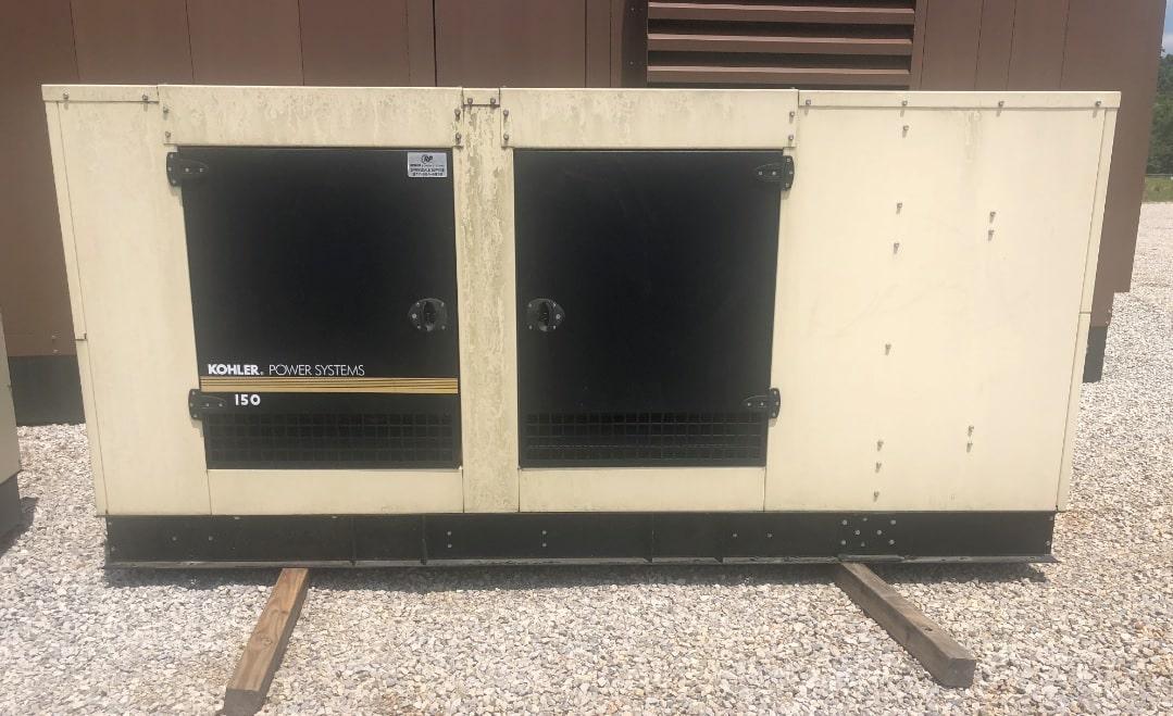 Used 152 kW Kohler 150REZG Natural Gas Generator – JUST IN!