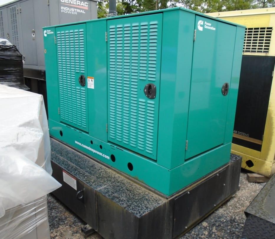 Used 80 kW Cummins DSFAE Diesel Generator – EPA Tier 3 – SOLD!