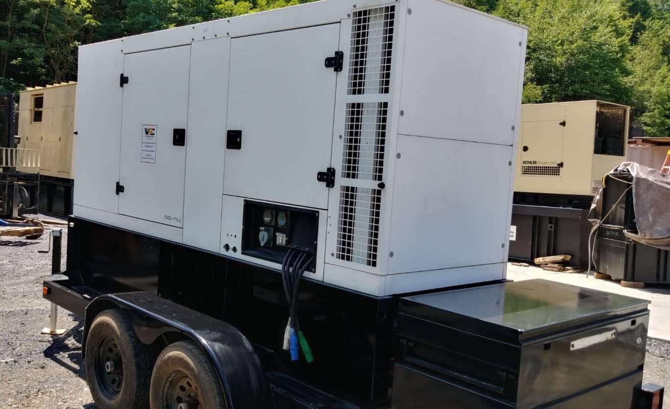 Used 128 kW SDMO R145UC Portable Diesel Generator – JUST IN!