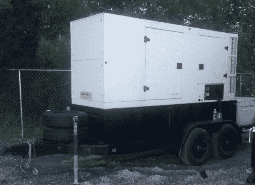Used 128 kW SDMO R145UC Portable Diesel Generator – ON RENT