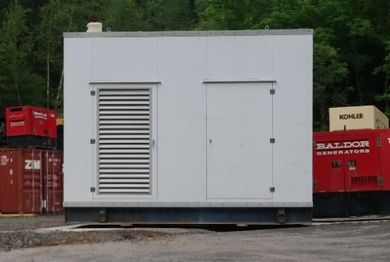 Used 250 kW Kohler 250RZD Natural Gas Generator