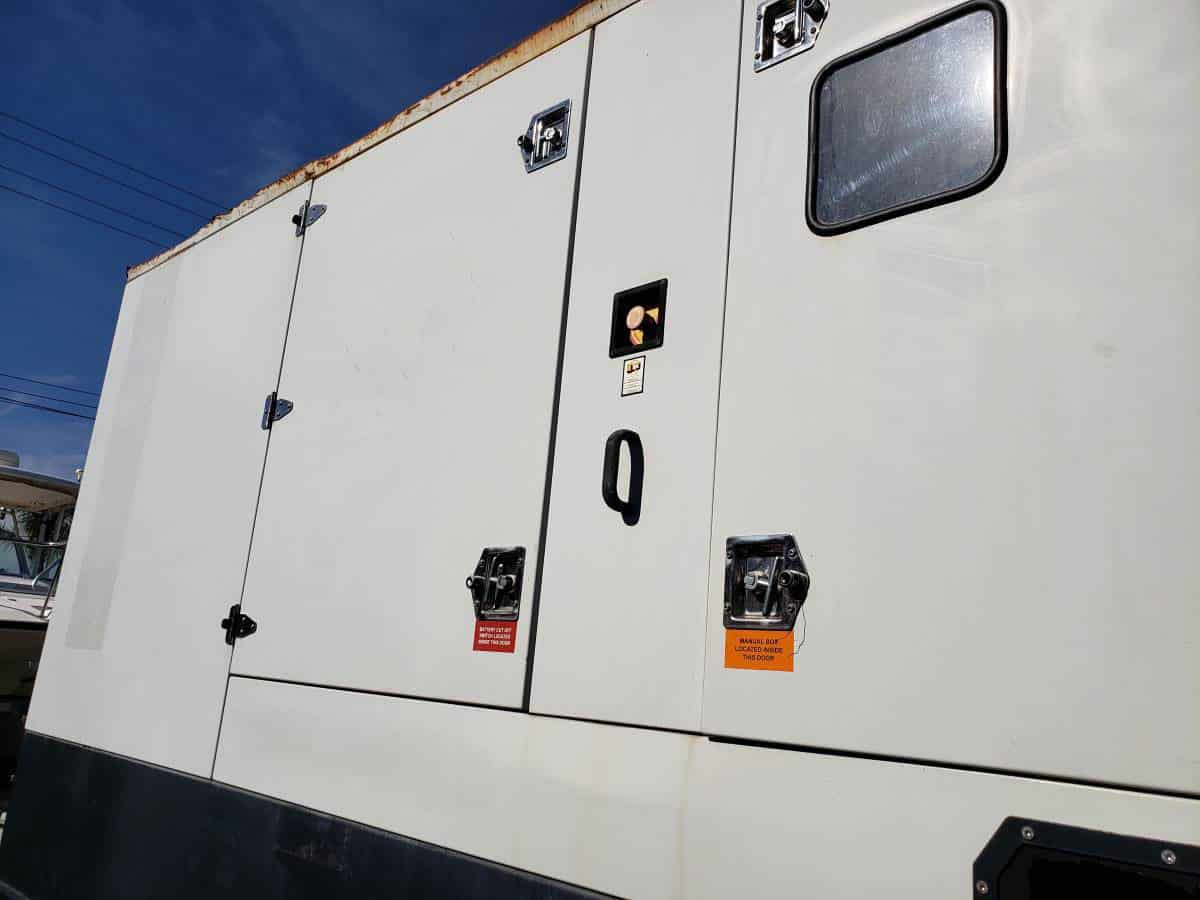 Used 247 kW HIPOWER HRJW-310 T6 Portable Diesel Generator – EPA Tier 3 – SOLD!