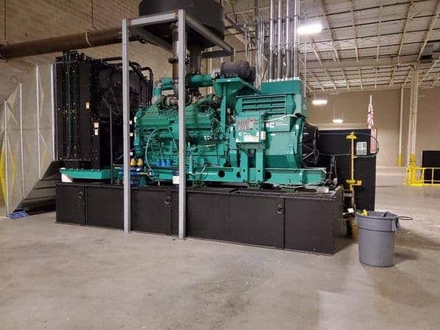 Used 2000 kW Cummins DQKAB Diesel Generator – EPA Tier 2 – SOLD!