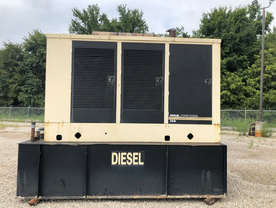 Used 350 kW Kohler 350REOZV Diesel Generator