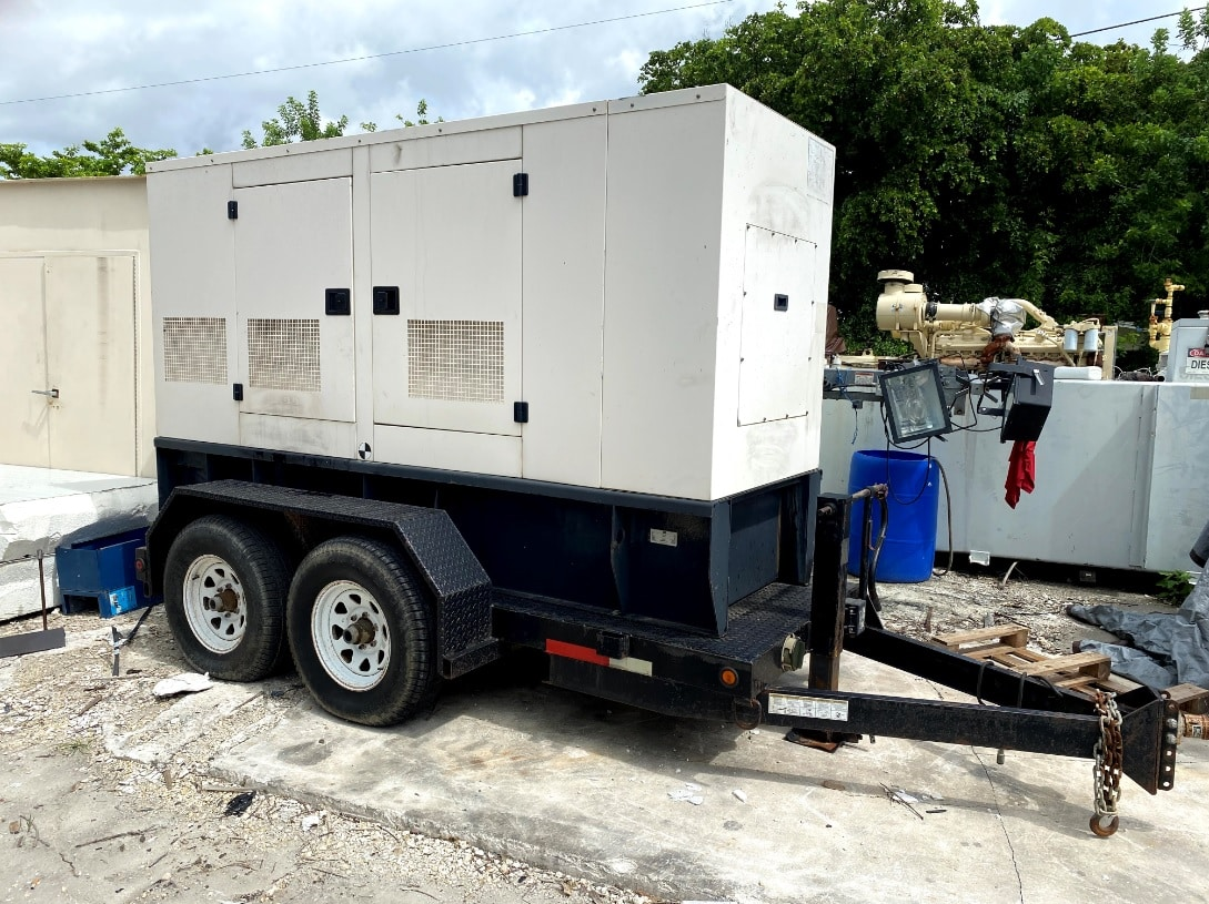 Used 80 kW CAT XQ80-2 Portable Diesel Generator – EPA Tier 2 – JUST IN!