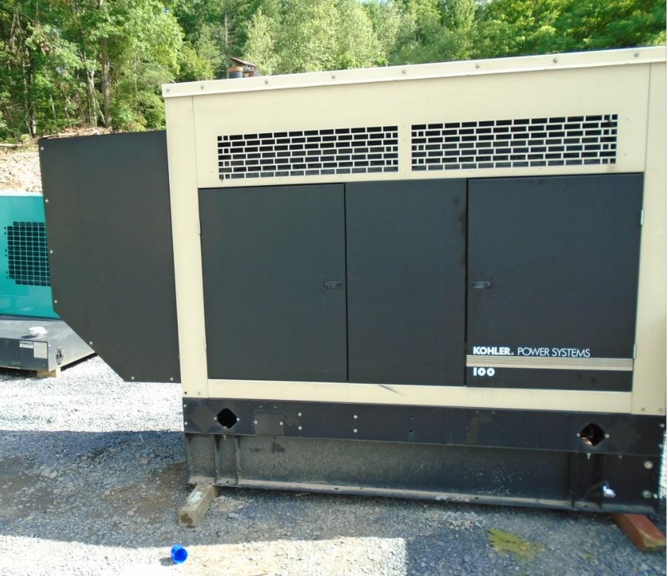 Used 100 kW Kohler 100REOZJD Diesel Generator – EPA Tier 3 – SOLD!