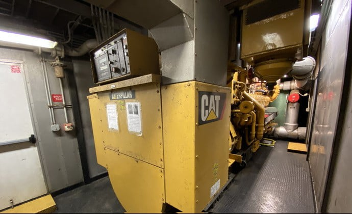 Used 1600 kW CAT 3520C LFG Methane Gas Powered CONTINOUS Generator – COMING IN!
