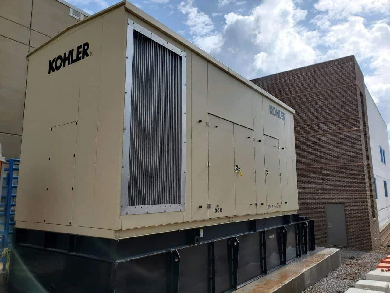 New 1000 kW Kohler KD1000 Diesel Generator – EPA Tier 2 – SOLD!