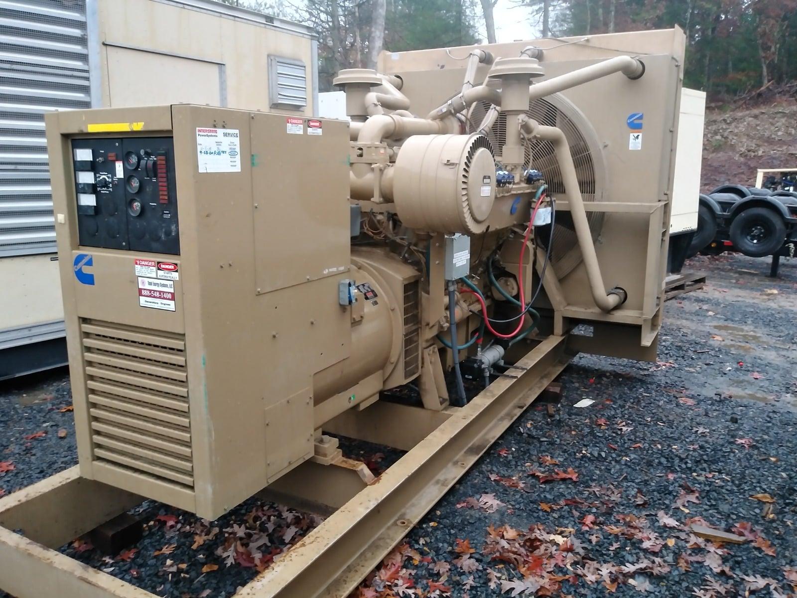 Used 500 kW Cummins GTA28 Natural Gas Generator – COMING IN!