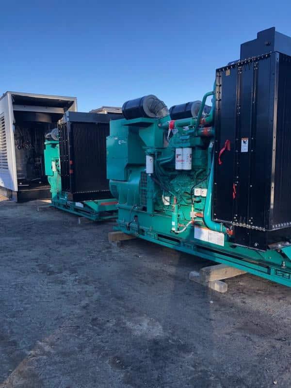 Used 1000 kW Cummins DQFAD Diesel Generator – EPA Tier 2 –  SALE PENDING!