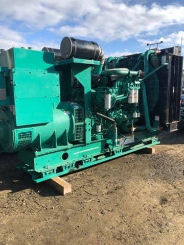 Used 1000 kW Cummins DQFAD Diesel Generator – EPA Tier 2 – COMING IN!