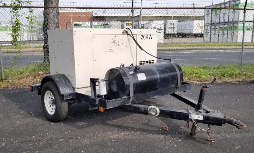 Used 20 kW Kubota GL Series Portable Diesel Generator – SOLD!