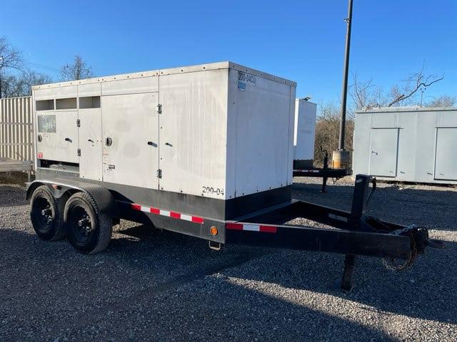 Used 200 kW Cummins C200 D6R Portable Diesel Generator