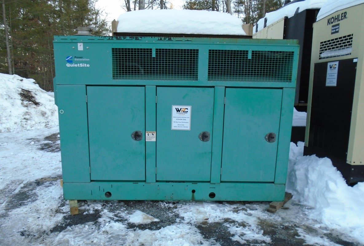 Used 100 kW Cummins GGHH Natural Gas Generator