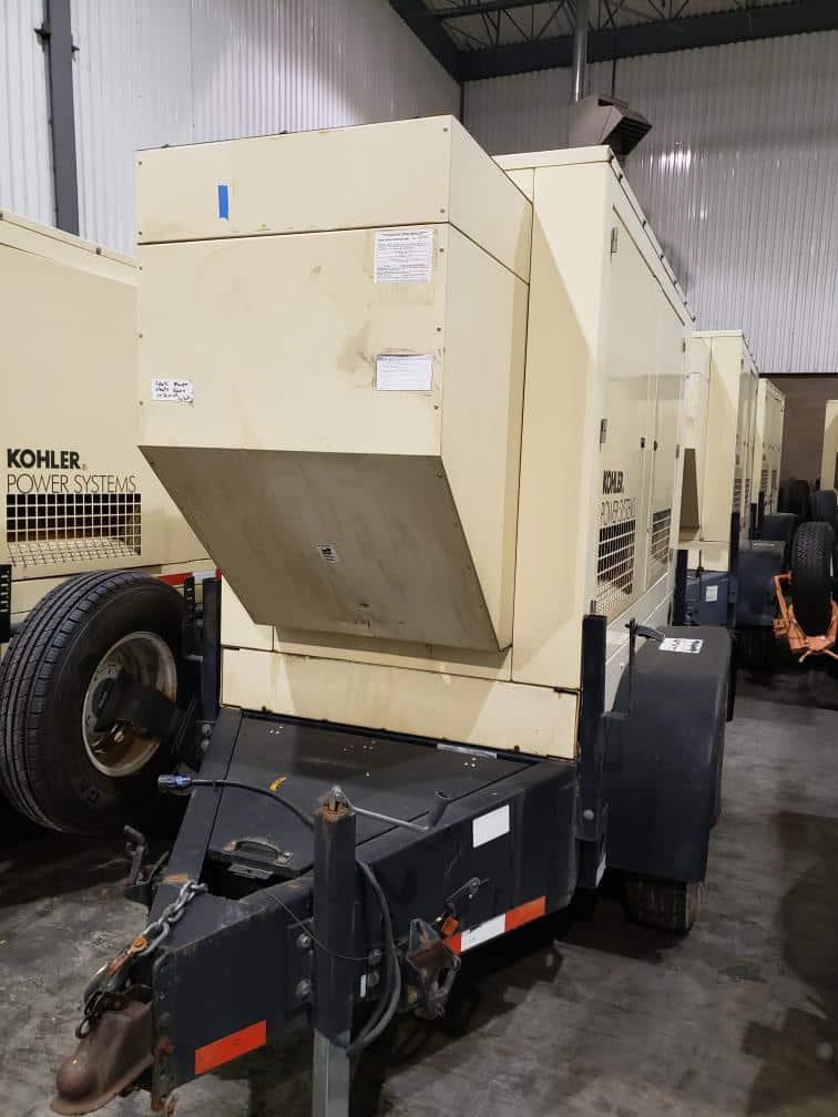 Used 35 kW Kohler 30REOZJB-NEX Portable Diesel Generator – EPA Tier 2 – COMING IN!