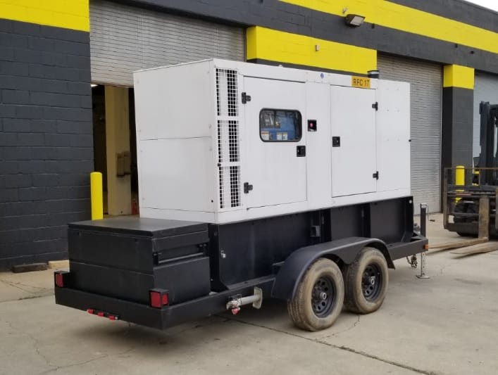Used 128 kW SDMO R145UC Portable Diesel Generator – EPA Tier 2