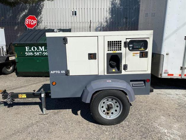 Used 36 kW APTG 45 T4F NB Portable Diesel Generator – EPA Tier 4 Final
