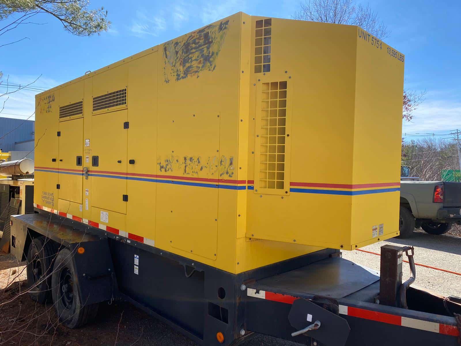 Used 260 kW Doosan G325WCU-3A-T4I Portable Diesel Generator – EPA Tier 4 Interim – ON RENT